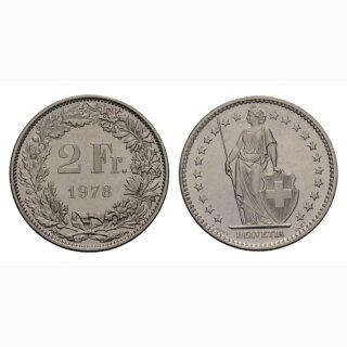 2 Franken 1978 Schweiz