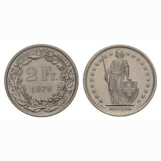 2 Franken 1980 Schweiz