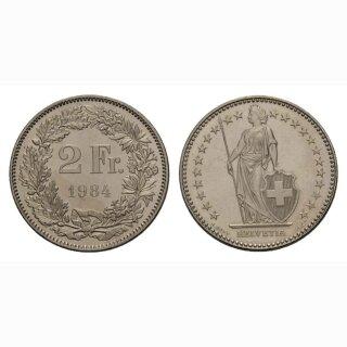 2 Franken 1984 Schweiz