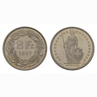2 Franken 1987 Schweiz