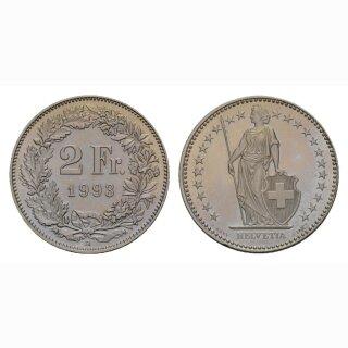 2 Franken 1993 Schweiz