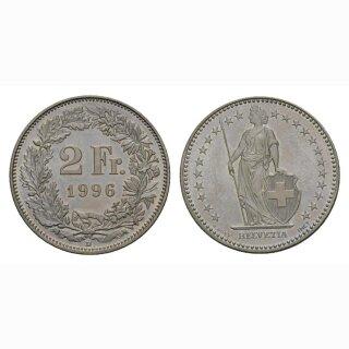 2 Franken 1996 Schweiz