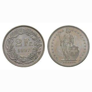 2 Franken 1997 Schweiz