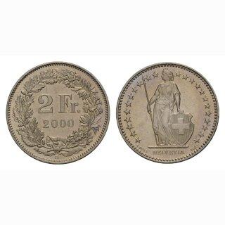 2 Franken 2000 Schweiz