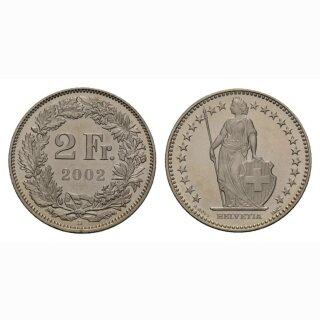 2 Franken 2002 Schweiz