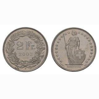 2 Franken 2003 Schweiz