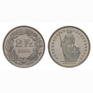 2 Franken 2004 Schweiz