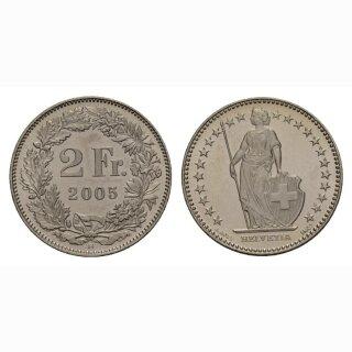 2 Franken 2005 Schweiz