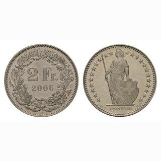 2 Franken 2006 Schweiz