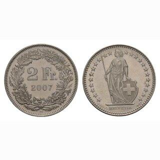 2 Franken 2007 Schweiz