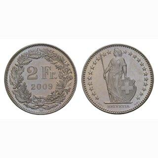 2 Franken 2009 Schweiz