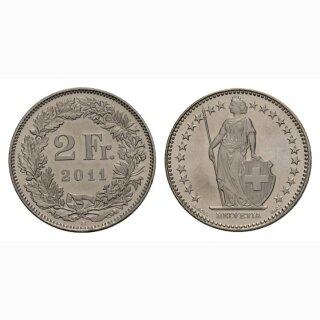 2 Franken 2011 Schweiz