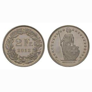 2 Franken 2012 Schweiz