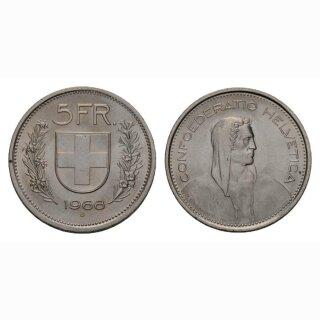 5 Franken 1968 Schweiz