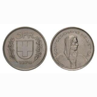 5 Franken 1976 Schweiz