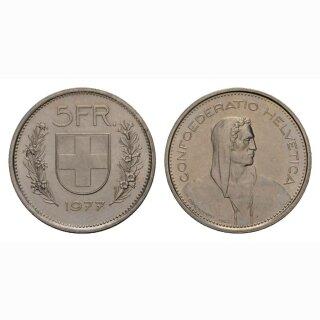 5 Franken 1977 Schweiz