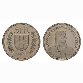 5 Franken 1983 Schweiz