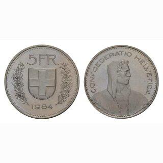 5 Franken 1984 Schweiz
