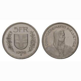 5 Franken 1986 Schweiz