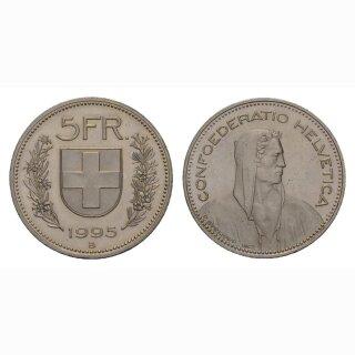 5 Franken 1995 Schweiz