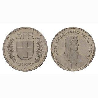 5 Franken 2000 Schweiz