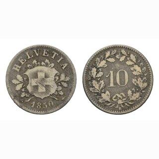 10 Rappen 1850 Schweiz