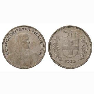 5 Franken 1923 Schweiz