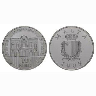 Malta 10 Euro 2009 Silber Gerichtsgebäude