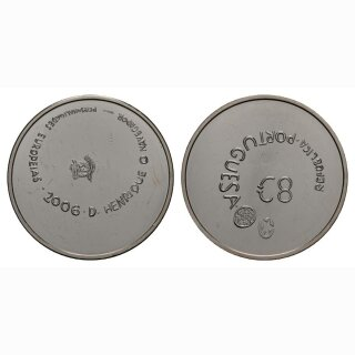 Portugal 8 Euro 2006 Silber Staatswappen