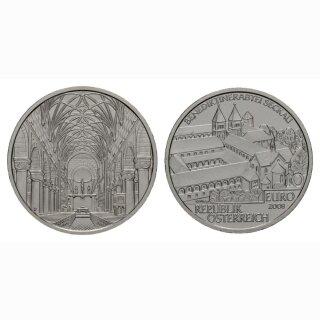 Österreich 10 Euro  2008 Silber Augustinerchorherrenstift