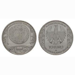 Deutschland 10 Euro 2008 Silber Himelscheibe von Nebra