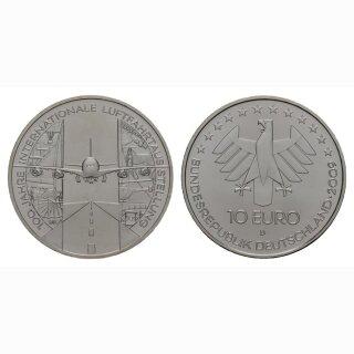 Deutschland 10 Euro 2009 Silber Luftfahrtaustellung