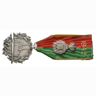 Schützenabzeichen Neuenburg 1942 Silber