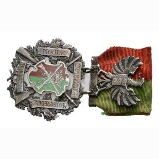 Schützenabzeichen Neuenburg ohne Jahr Silber