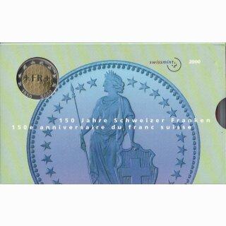 Schweizer Münzsatz 2000 Spezial stgl