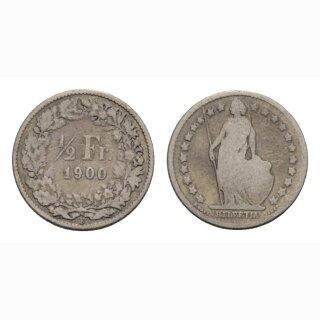 50 Rappen 1900 B Schweiz