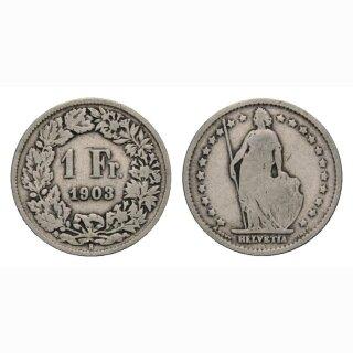 1 Franken 1903 B Schweiz