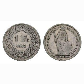 1 Franken 1912 B Schweiz