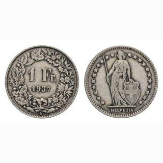 1 Franken 1937 B Schweiz