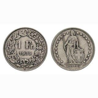1 Franken 1939 B Schweiz
