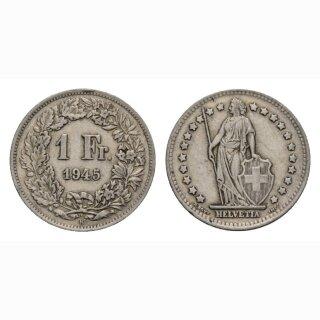 1 Franken 1945 B Schweiz