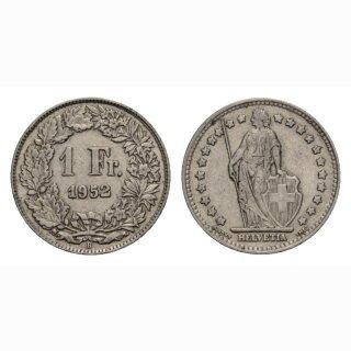 1 Franken 1952 B Schweiz