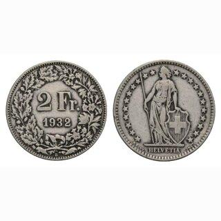 2 Franken 1932 B Schweiz