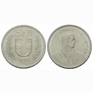 5 Franken 1966 B Schweiz