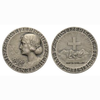 Schweizerischer Schüteznverband Silbermedialle  Ri 1970a