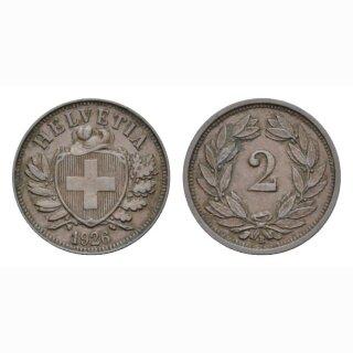 2 Rappen 1933 B Schweiz