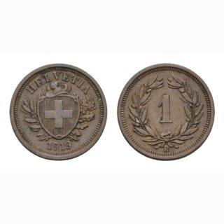 1 Rappen 1919 B Schweiz