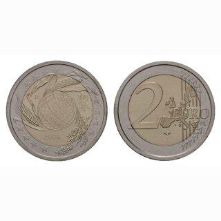 Italien 2 Euro 2004 Welternährungsprogramm Gednekmünze