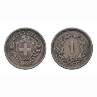 1 Rappen 1925 B Schweiz