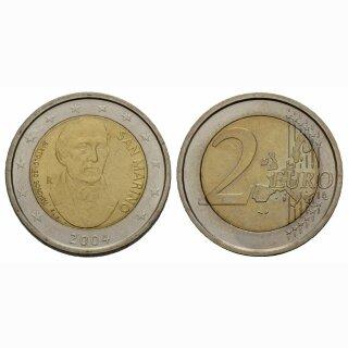 San Marino 2 Euro 2004 Borhesi Gedenkmünze BILD